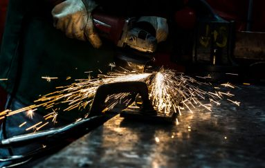 Fellowship Awards and Grants - Welding machine casting sparks